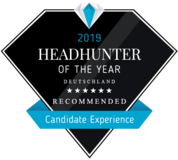 Headhunter of the Year 2019 - 6 Stars Candidate Experience