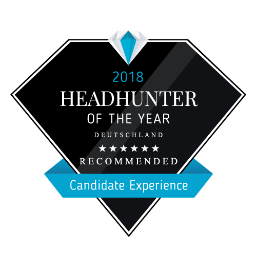 "Headhunter of the Year 2018 ""Candidate Experince"""