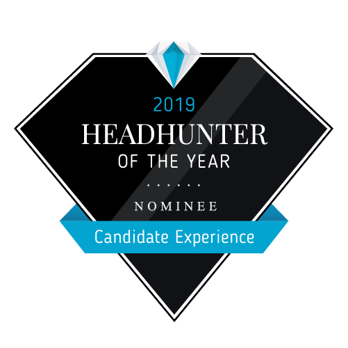Headhunter of the Year 2019 - Candidate Nominee